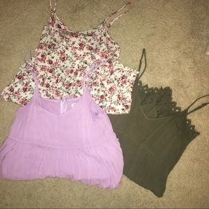 3 SMALL ROMPERS BUNDLE!!!